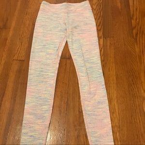 Ivivva Pink Full-Lenght Rhythmic Tight Size 12